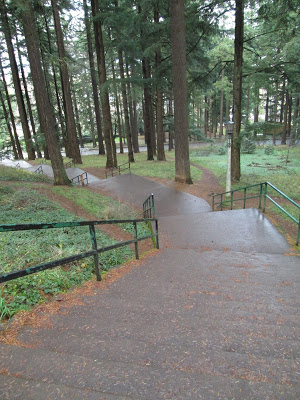 Mt. Tabor Park Stairs